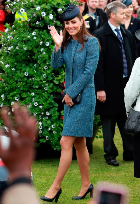 Duchess of Cambridge - Diamond Jubilee Tour - Marie Claire - Marie Claire UK