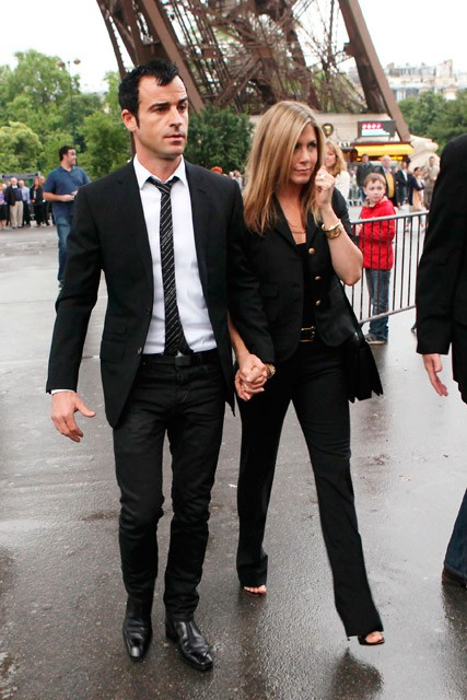 Jennifer Aniston and Justin Theroux - Jennifer Aniston and Justin Theroux in Paris - Jennifer Aniston Pictures - Jennifer Aniston 2012 - Marie Claire - Marie Claire UK