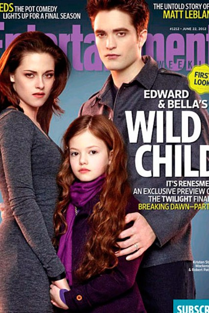 Robert Pattinson, Kristen Stewart & Mackenzie Foy's Breaking Dawn photo shoot