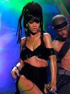 Rihanna 'not happy' about size zero figure