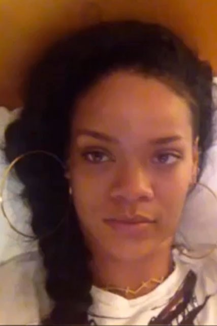 Rihanna Twitter Video Garticle