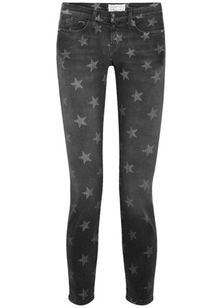 Current:Elliott star print jeans, £225