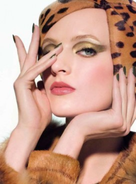 Dior - Fall Look - beauty - make-up - Golden Jungle