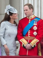 Prince William and Kate Middleton attend Trooping the Colour