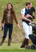 Kate Middleton, Prince William and Lupo - Kate Middleton Pictures - Beaufort Polo - Kate Middleton and Prince William Pictures - Lupo Pictures - Marie Claire - Marie Claire UK