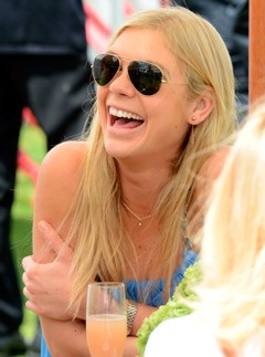 Chelsy Davy attends Cartier Queen's Cup Polo