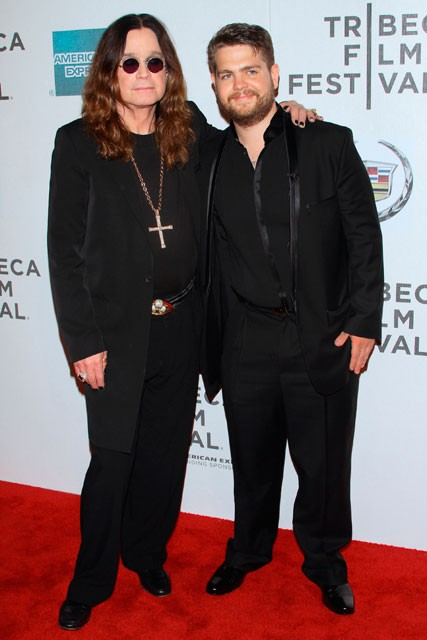 Jack Osbourne and Ozzy Garticles