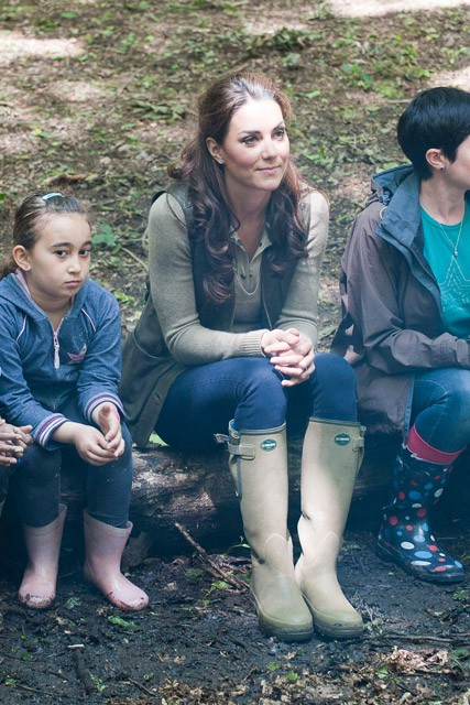 Kate Middleton - Duchess of Cambridge - Kate Middleton camping - Marie Claire - Marie Claire UK