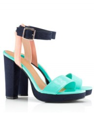 H&amp;M metal buckle sandals, 24.99