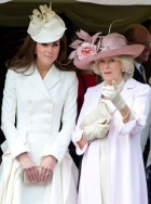 Kate Middleton recycles Alexander McQueen coat for Order of the Garter service