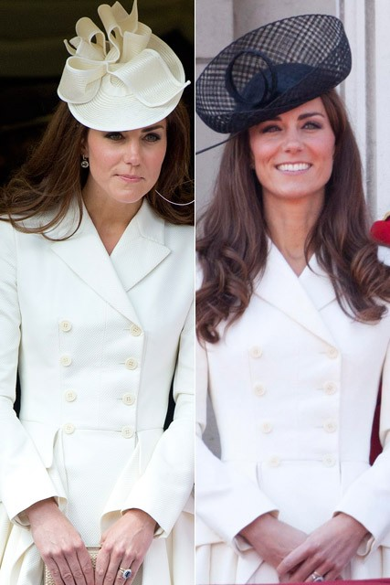 Kate Middleton recycles Alexander McQueen coat at the Order of the Garter service
