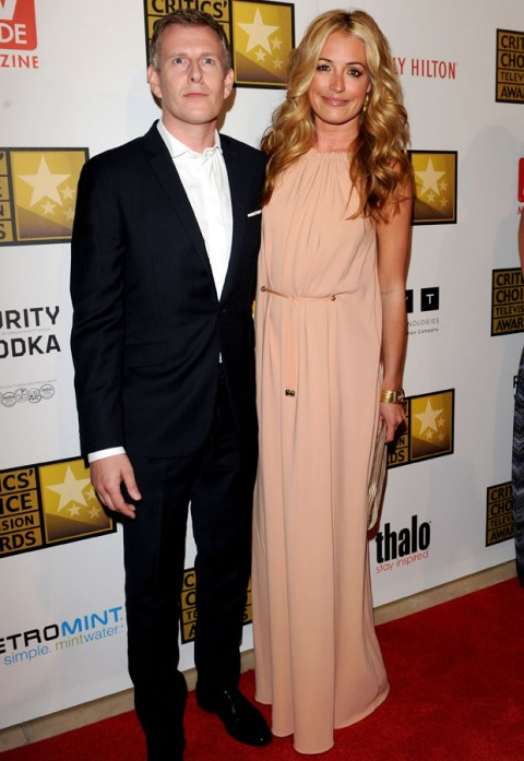 Cat Deeley and Patrick Kielty 2012 Critics' Choice Awards Marie Claire Marie Claire UK