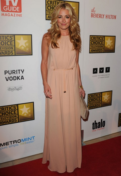 Cat Deeley 2012 Critics&#039; Choice Awards Marie Claire Marie Claire UK