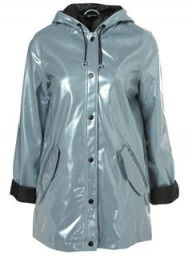 Topshop Metallic Plastic Mac - Buy of the day - Marie Claire - Marie Claire UK