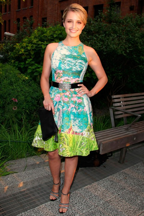 Dianna Agron at the Summer Party on the High Line in New York
