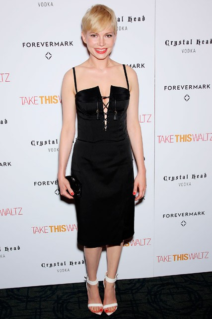 Michelle Williams wearing Altuzarra at the New York premiere of Take This Waltz