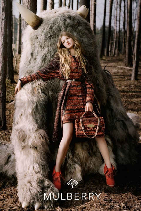 Mulberry autumn/winter 2012 campaign