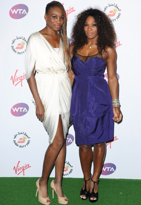 Serena Williams and Venus Williams - Wimbledon Party - Marie Claire - Marie Claire UK