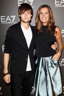 Douglas Booth &amp; Roberta Armani