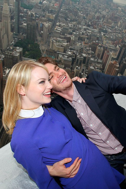 Emma Stone and Andrew Garfield - The Amazing Spider-Man - The Amazing Spiderman - Marie Claire - Marie Claire UK