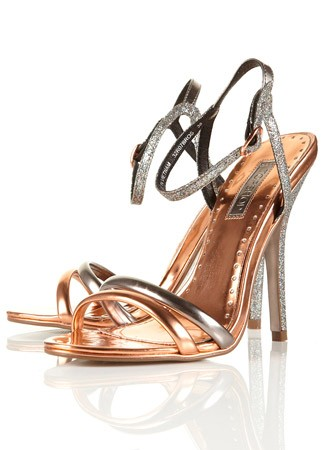 Topshop strappy sandals, Was &pound;45, Now &pound;25 - summer sale bargains - sales