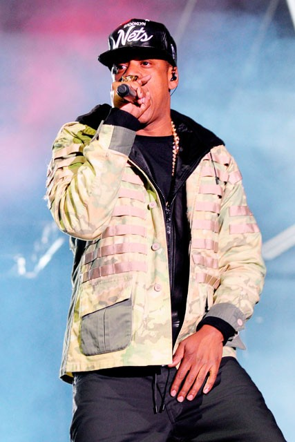 Jay Z - Radio 1 Hackney weekend - Marie Claire Marie - Claire UK