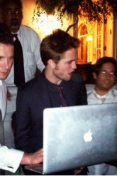 Robert Pattinson & Kristen Stewart attend friend's star-studded wedding
