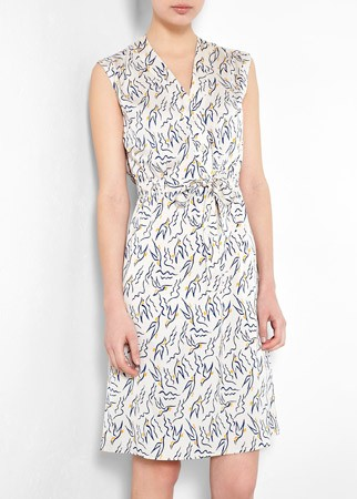 Tucker printed sleeveless dress, £310