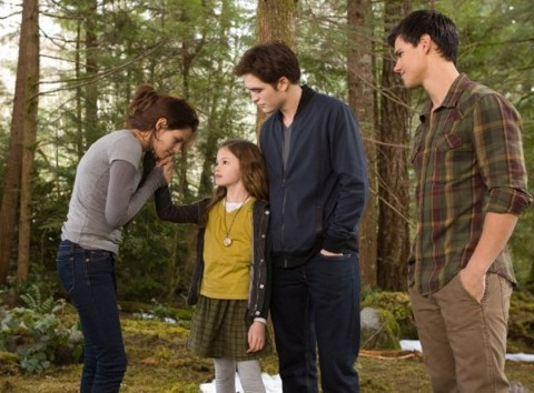 Kristen Stewart, Robert Pattinson & Taylor Lautner - Twilight Breaking Dawn 2 Movie Photos