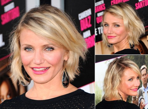 Cameron Diaz - sexy summer hairstyles - best summer hair - ideas