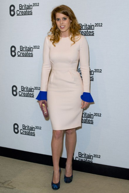 Princess Beatriceat Britain Creates 2012: Fashion & Art Collusion VIP gala in London