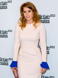 Princess Beatrice at Britain Creates 2012: Fashion &amp; Art Collusion VIP gala in London