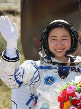 chinese first female astronaut