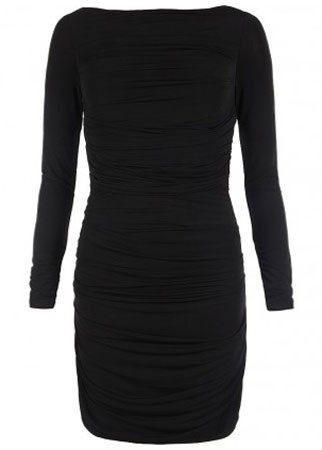 All Saints long-sleeved dress, Was £150, Now £75