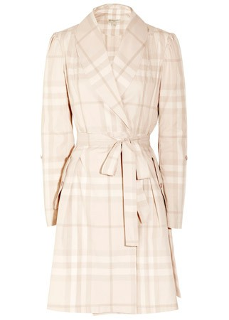 Burberry Brit checked coat, &pound;165