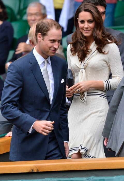 Kate Middleton and Prince William at Wimbledon - Wimbledon 2012 - Marie Claire UK