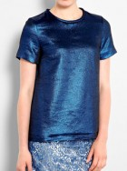 Marc by Marc Jacobs lame T-shirt
