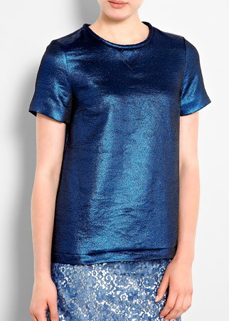 Marc by Marc Jacobs lame T-shirt, £315
