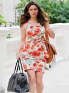 Kelly Brook wows in one of her New Look designs