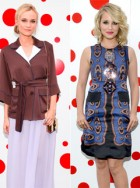 Diane Kruger & Dianna Agron at the Louis Vuitton New York party