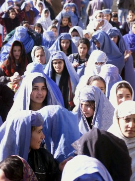 Women in Kabul normal