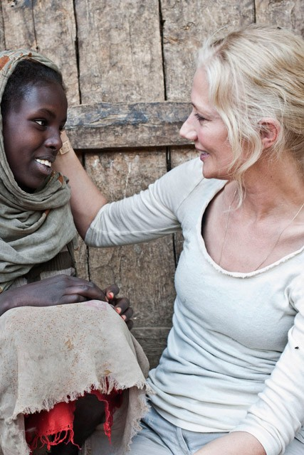 Joely Richardson for Save the Children
