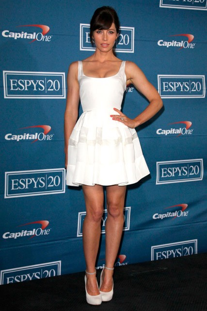 Jessica Biel at the ESPY Awards 2012 in Los Angeles