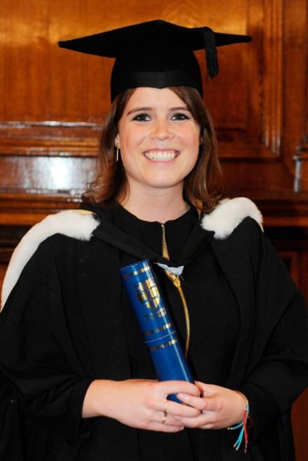 Princess Eugenie graduates with a 2:1