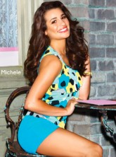 Lea Michele for Candie's shoe campaign