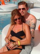 Professor Green & Millie Mackintosh cosy up in Ibiza