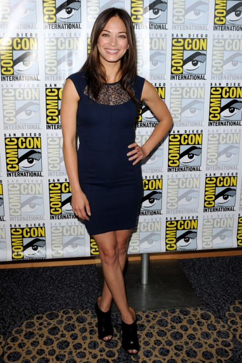 Kristin Kreuk at Comic-Con 2012 in San Diego