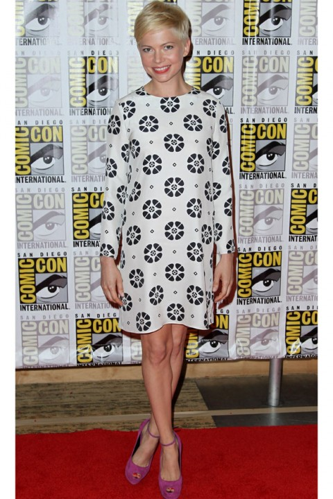 Michelle Williams at Comic-Con 2012 in San Diego