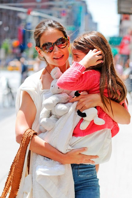 Katie Holmes and Suri Cruise - Marie Claire - Marie Claire UK
