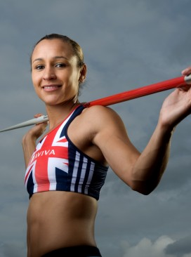 British athlete Jessica Ennis